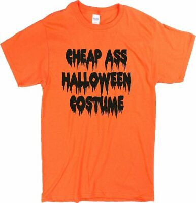 Günstig Arsch Halloween Kostüm T-Shirt - Unisex, Horror, Diverse Farben, S-XXL