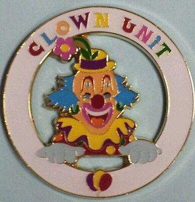 New Shriner Clown Unit Cut Out Car Emblem