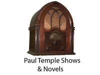 Paul Temple Novels and Radio Shows DVD Over 100 hours Listening