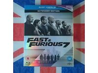 Fast & Furious 7. Bluray
