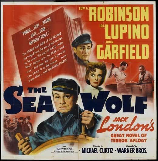 THE SEA WOLF Movie POSTER 30x30 Ken Maynard Doris Hill Joseph W. Girard Carroll
