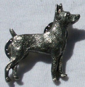 RAT-TERRIER-Dog-Fine-PEWTER-PIN-Jewelry-Art-USA-Made