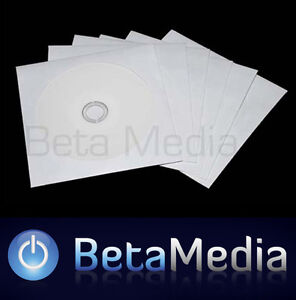 CD / DVD Sleeves 1500 pcs Paper Envelopes High Quality