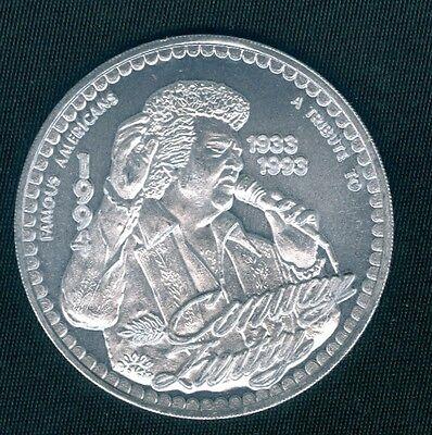 Conway Twitty - Tribute - Mardi Gras Doubloon Coin Token 1994