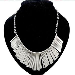 New Fashion Gothic Vintage Women Bubble Bib Party Statement Necklace N Hot