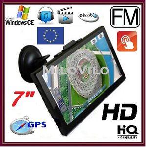 17-8cm-7-pollici-MediaTek-Gps-Navigazione-Dispositivo-di-navigazione-3d-Europa-auto-4gb-NUOVO