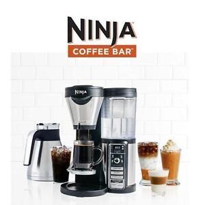 NEW OB NINJA COFFEE BAR BREWER Ninja® Coffee Bar™ Brewer Black/Silver - NEW OPEN BOX 106648419