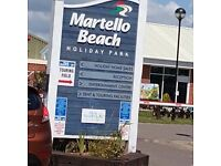 Martello beach short/long term stays prices from £80-£600