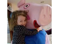 Mascot Hire in Leicester Minnie, Mickey, Peppa, George, Paw Patrol, Spiderman, Hello Kitty, Fireman