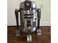 R2-D2 Star Wars Log Wood Burner