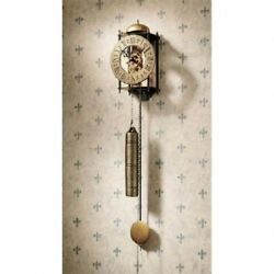 Vintage Regulator Wall Clock Antique Style Roman Numeral Old World Decor New