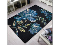 DUNELM Colonial Floral Rug by Flair 160cm x 230cm BRAND NEW