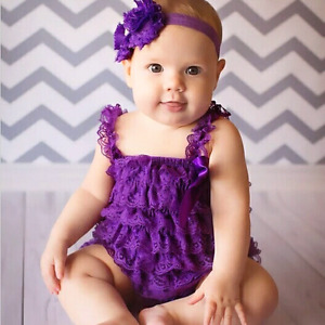 baby lace romper tutus . New.