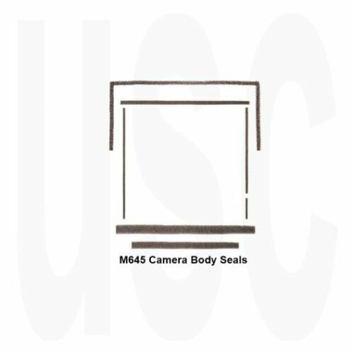 Mamiya M645 M645J 1000s Custom Light Seal Kit New | 120 Roll Film SLR Camera