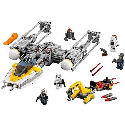 LEGO Star Wars Y-Wing Starfighter (75172) Complete In Bags