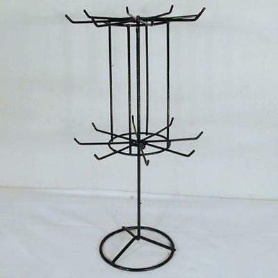 2 Spinning Jewelry Display Rack 16 In Black Racks Toy Necklace Bracelet New