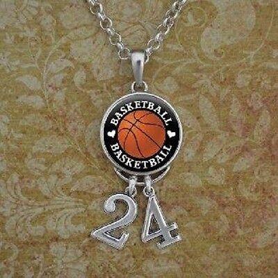 Basketball  Number Necklace/ custom