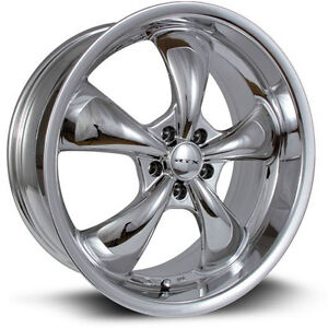 Roues (Mags) RTX GT PVD Chrome 20 pouces 5-114.3