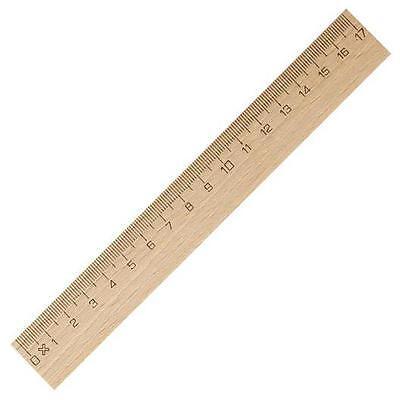 Lineal 17 cm Holzlineal