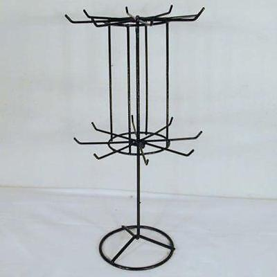 4 Spinning Jewelry Display Rack 16 In Black Racks Toy Necklace Bracelet New