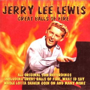 JERRY LEE LEWIS GREAT BALLS OF FIRE CD Album MINT/MINT/MINT *