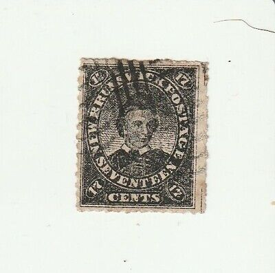 Canada New Brunswick 1860 17c Prince of Wales Used Stamp