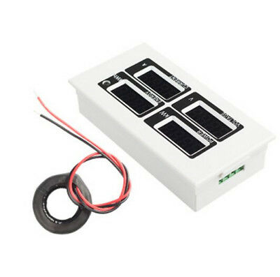 Led Watt Meter Energy Meter Ac 80v-260v100a Volt Ampere Watt With Ct Coil