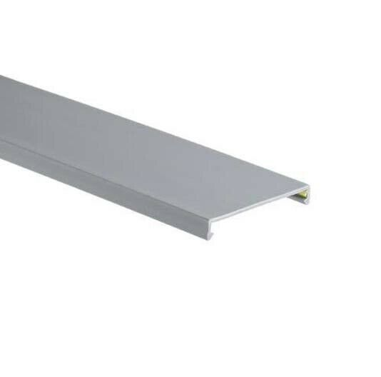 99007, Thomas & Betts, Wiring Duct .75 Gray Vinyl Cover, 60 FT