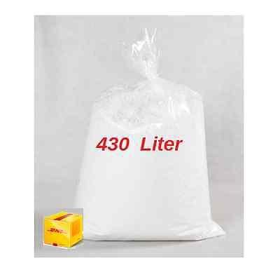 430 L   Outdoor  Sitzsack Füllung Füllmaterial Styroporkügelchen Dämmung