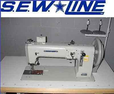 Sewline Sl-243 New Extra Heavy Duty Walking Foot  Industrial Sewing Machine