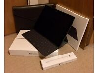 iPad Pro 12.9 inch 128Gb WIFI & Cellular, Apple Pencil, Smart Case Cover Keyboard, as new in boxes