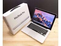 MACBOOK PRO UNIBODY 13 INCH 3.0GHZ i5, 4-16GB DDR3 RAM, 500gb, OFFICE 2016, ADOBE CS6