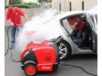Optima Steamer Mobile Car Wash