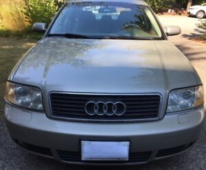 2003 Audi A6 3.0Litre FWD, clean and excellent condition - $4500