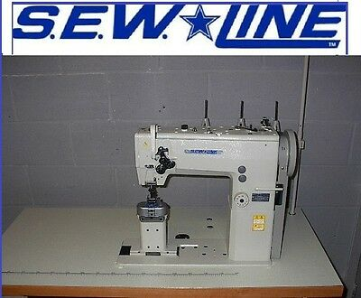 Sewline Sl-1389 New Two Needle Walking Foot 14 Post Industrial Sewing Machine
