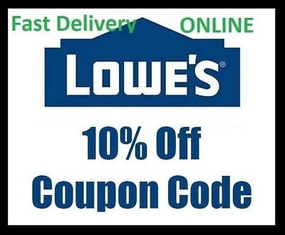 Five  5X  Lowes 10  Off Promotional Discount Code  Lowes Expires 3 31 2018