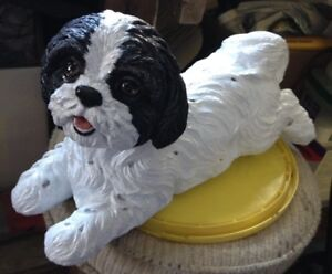 Concrete Shih tzu Dogs-custom made-od77