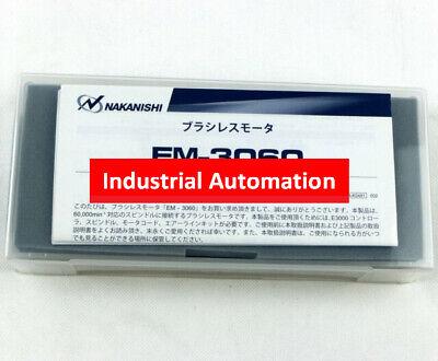 New Nakanishi Nashiki Em-3060 Motor Cnc Milling Metalworking 350w