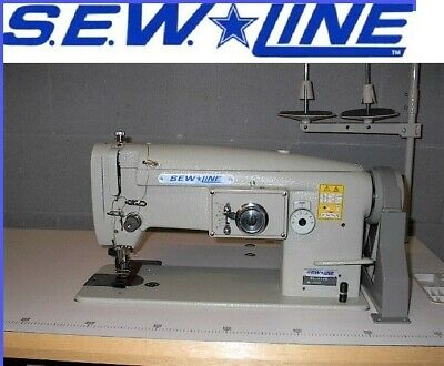 Sewline Sl-1146-3 Walking Foot 3 Step Zig Zag Big Bob Industrial Sewing Machine