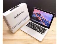 MACBOOK PRO 13 INCH 2.4GHZ, 4-8GB DDR3 RAM, SSD, OFFICE 2016, ADOBE CS6