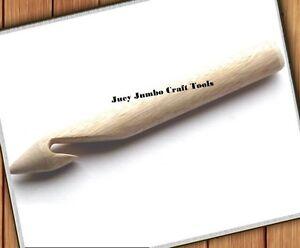 Juey Jumbo, Extreme Big Stitch, Giant, Extra Large Crochet Hook 25mm Free UK P&P