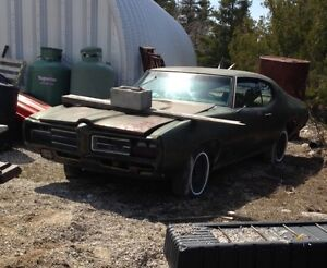 1969 GTO 4 speed for sale