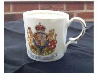 Royal Commemorative Mugs, four designs
