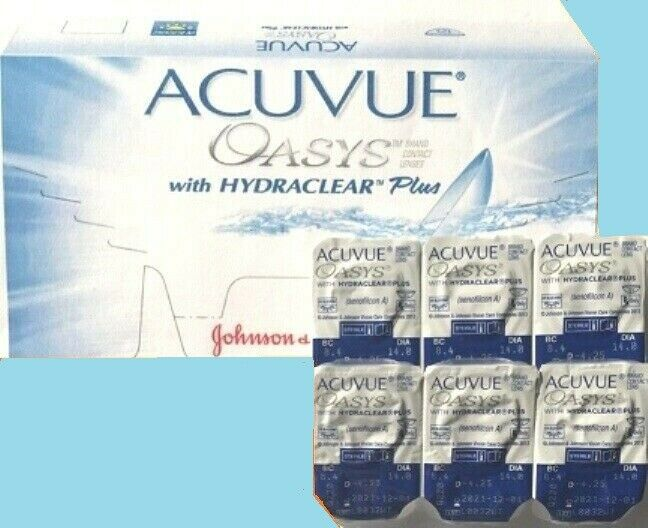 Acuvue Oasys Hydraclear PLUS  1x6 Kontaktlinsen BC 8.4 Johnson&Johnson