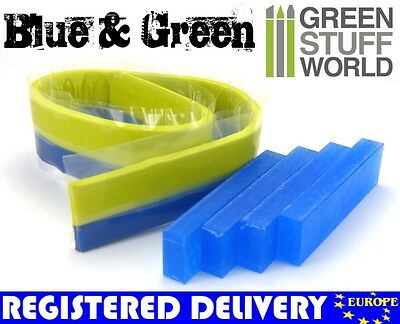 COMBO Blue Stuff Intant Plastic Clay *and* Green Stuff - for instant mold uses