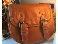 Zara Girl long strap leather look girls handbag