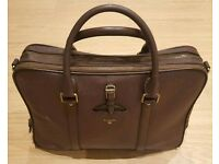 Men's leather business/office bag worth £200