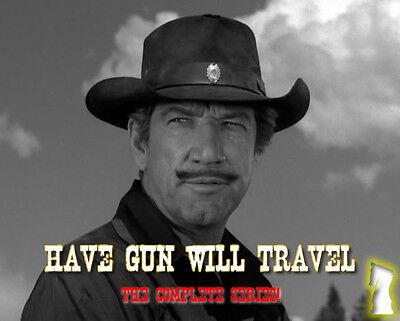 Have Gun Will Travel - OTR - COMPLETE SERIES - 1 MP3 DVD