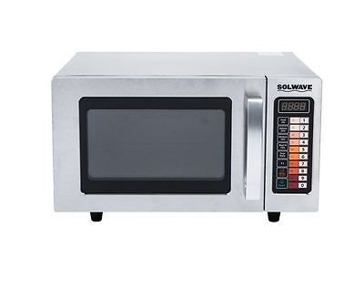 Heavy Duty Stainless Commercial Microwave Oven With Push Button Controls 1000w