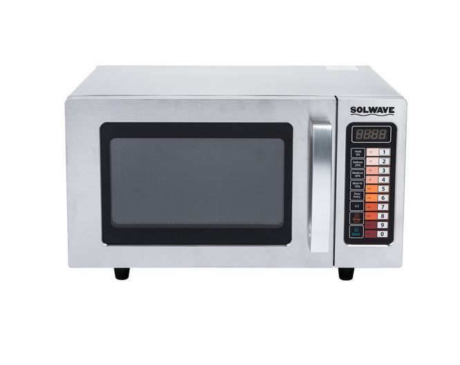 Heavy Duty Stainless Commercial Microwave Oven with Push But
